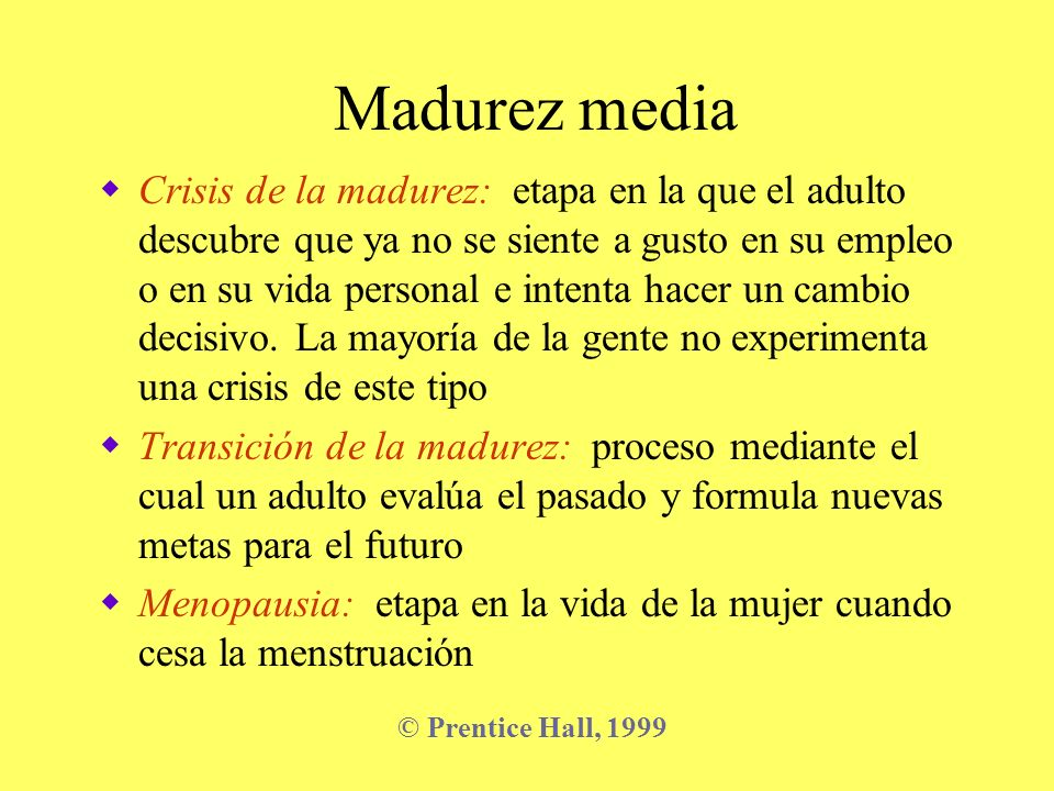 Madurez media
