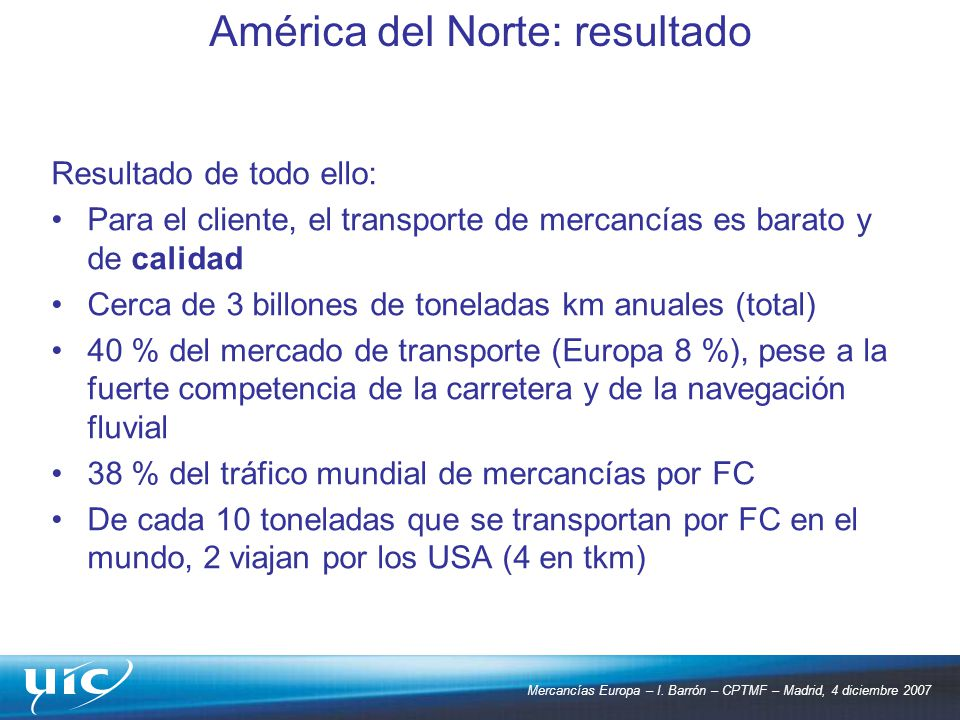 América del Norte: resultado