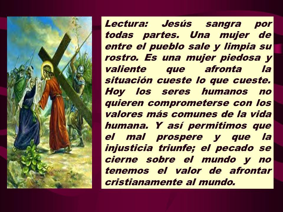 Lectura: Jesús sangra por todas partes
