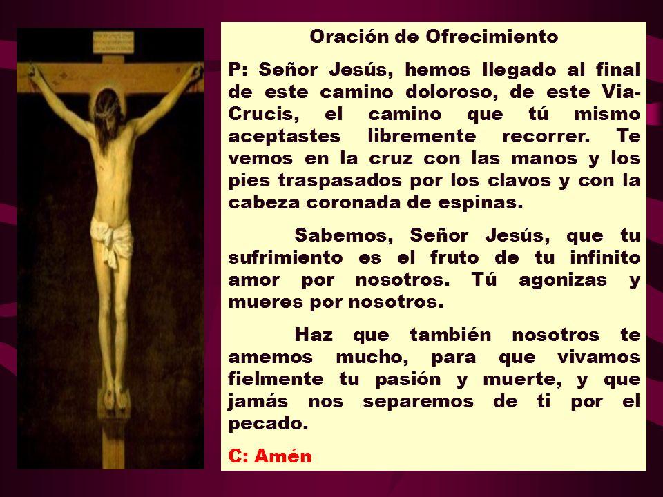 Oración de Ofrecimiento