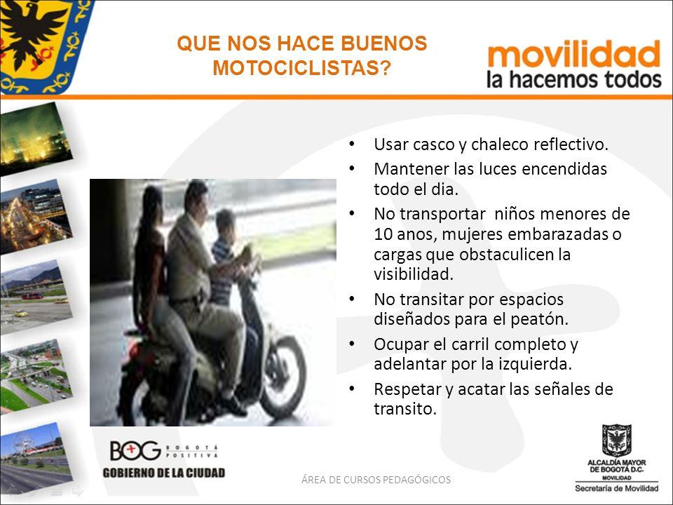 QUE NOS HACE BUENOS MOTOCICLISTAS