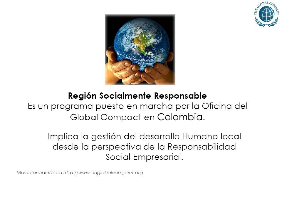 Región Socialmente Responsable