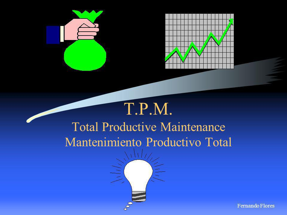 T.P.M. Total Productive Maintenance Mantenimiento Productivo Total