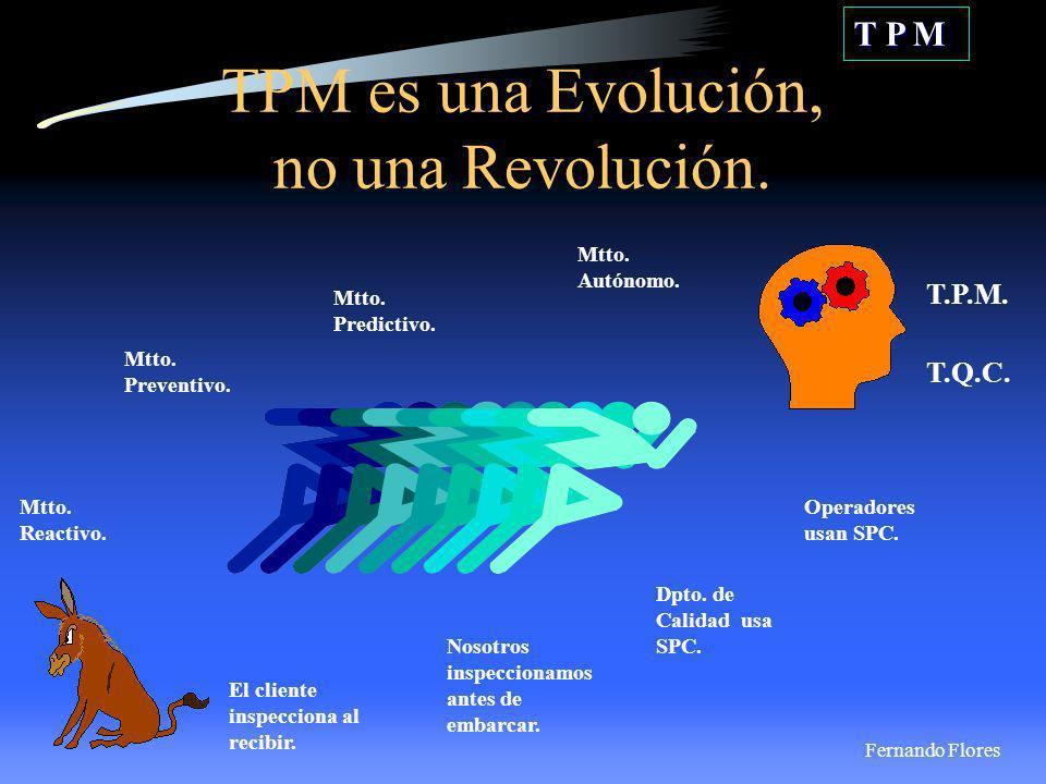 TPM es una Evolución, no una Revolución.