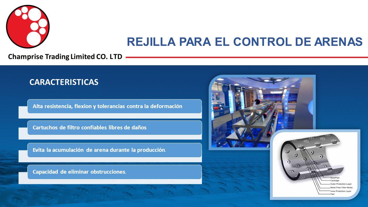 REJILLA PARA EL CONTROL DE ARENAS