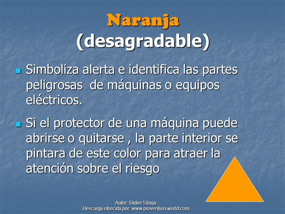 Naranja (desagradable)