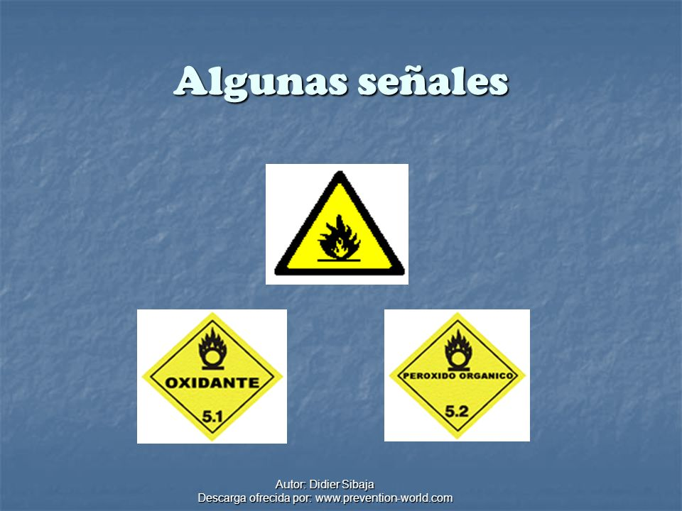 Autor: Didier Sibaja Descarga ofrecida por: www.prevention-world.com