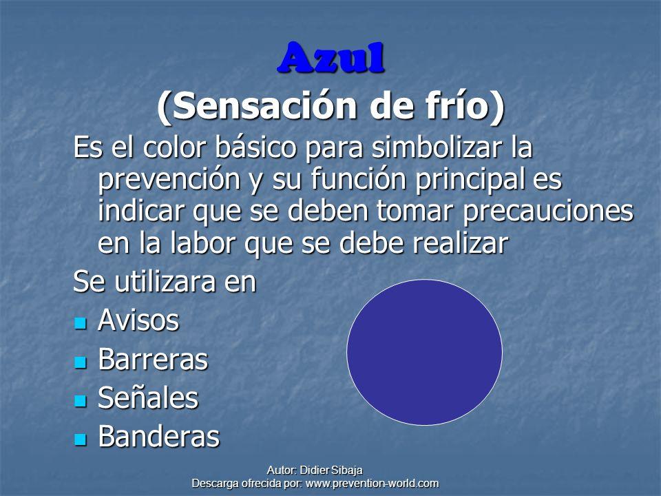Azul (Sensación de frío)