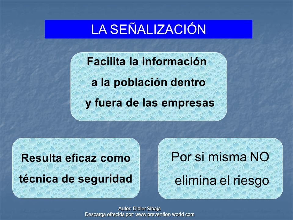 Facilita la información