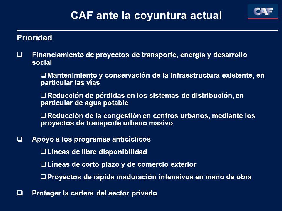 CAF ante la coyuntura actual