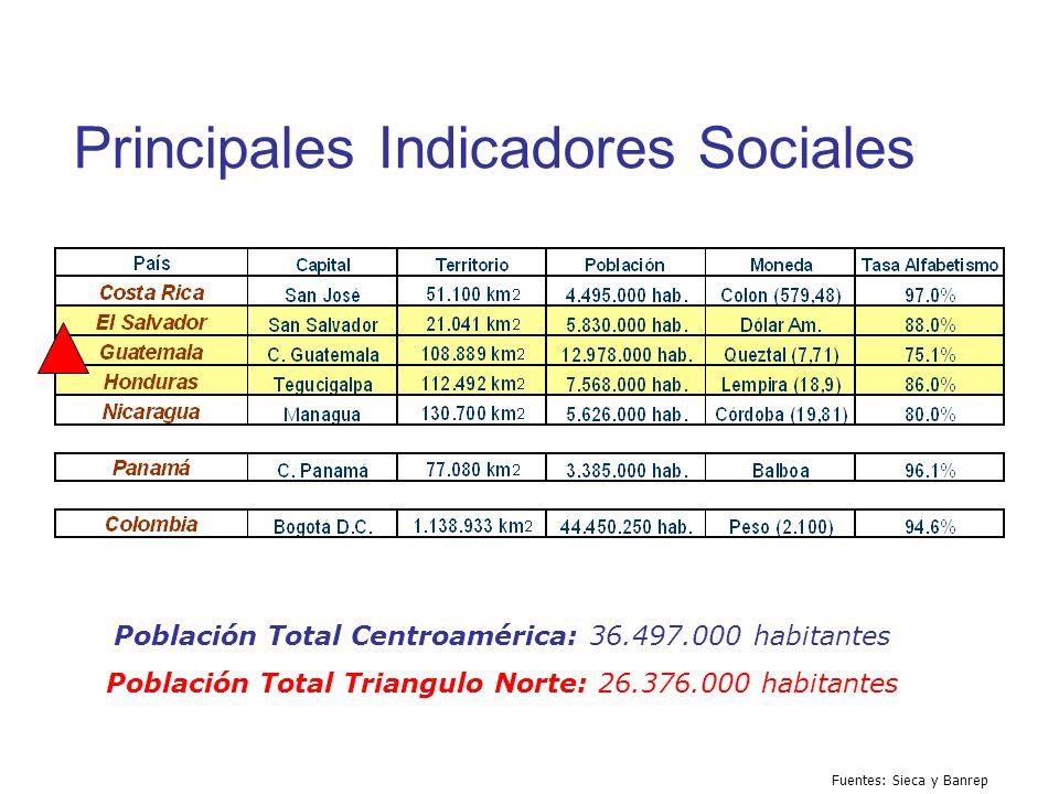 Principales Indicadores Sociales