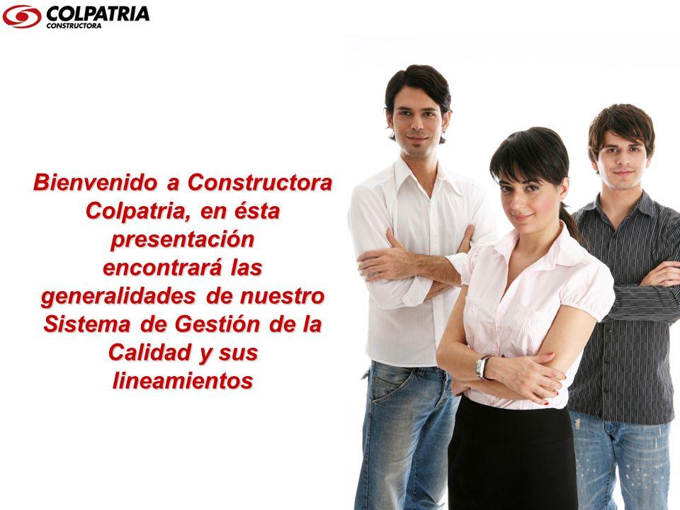 Bienvenido a Constructora Colpatria, en ésta presentación