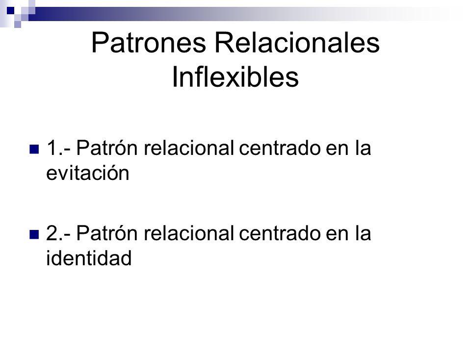 Patrones Relacionales Inflexibles