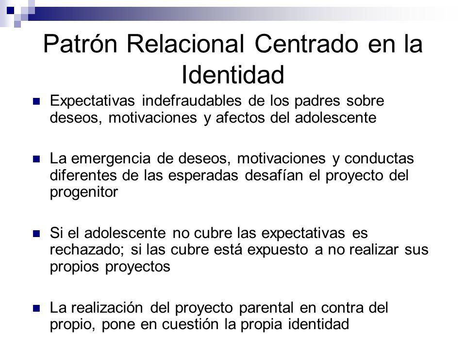 Patrón Relacional Centrado en la Identidad