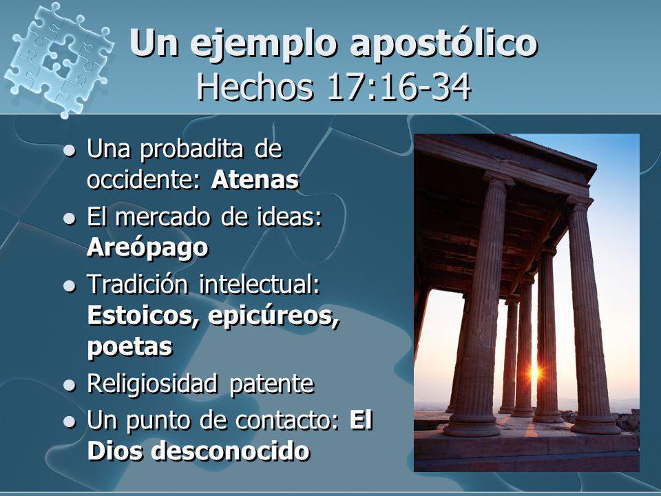 Un ejemplo apostólico Hechos 17:16-34