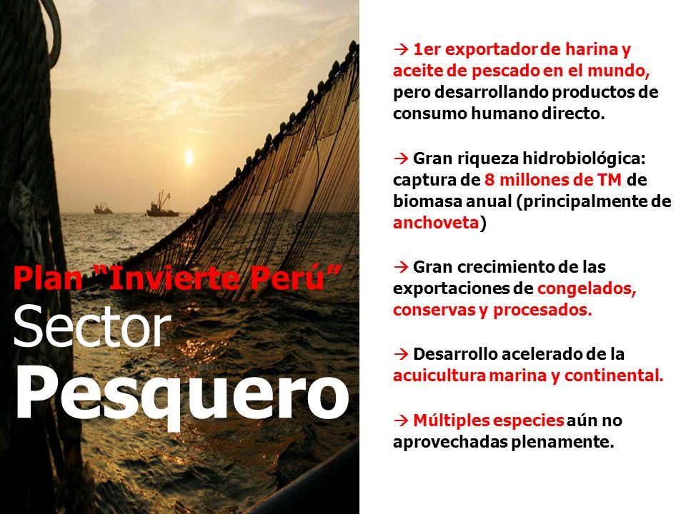 Pesquero Sector Plan Invierte Perú