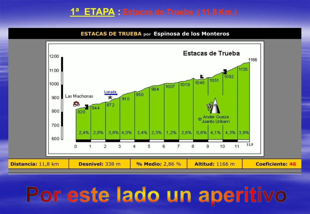 1ª ETAPA : Estacas de Trueba ( 11,8 Km.) Por este lado un aperitivo