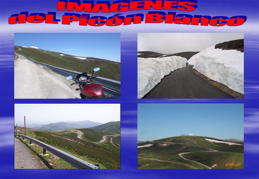 IMAGENES deL Picón Blanco