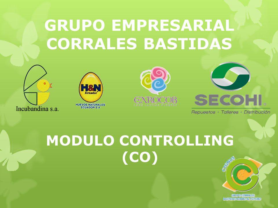 GRUPO EMPRESARIAL CORRALES BASTIDAS MODULO CONTROLLING (CO)