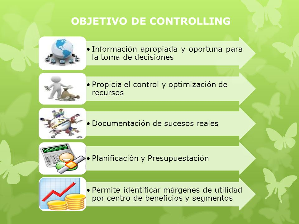 OBJETIVO DE CONTROLLING