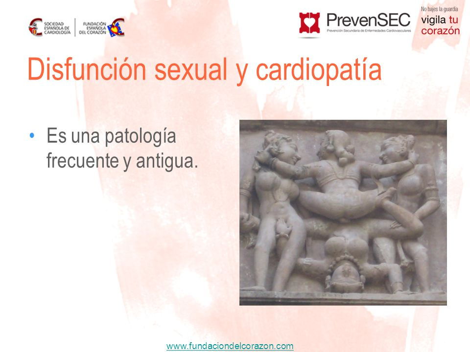 Disfunción sexual y cardiopatía