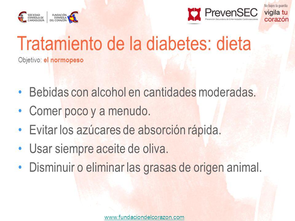 Tratamiento de la diabetes: dieta