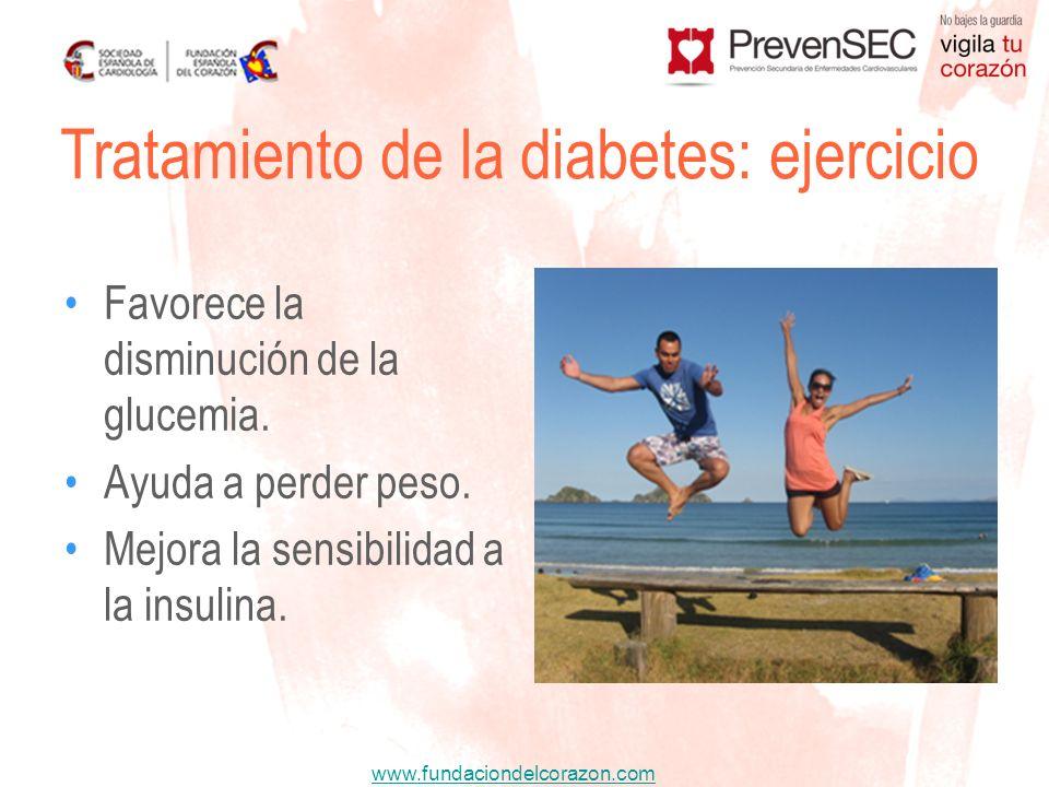 Tratamiento de la diabetes: ejercicio
