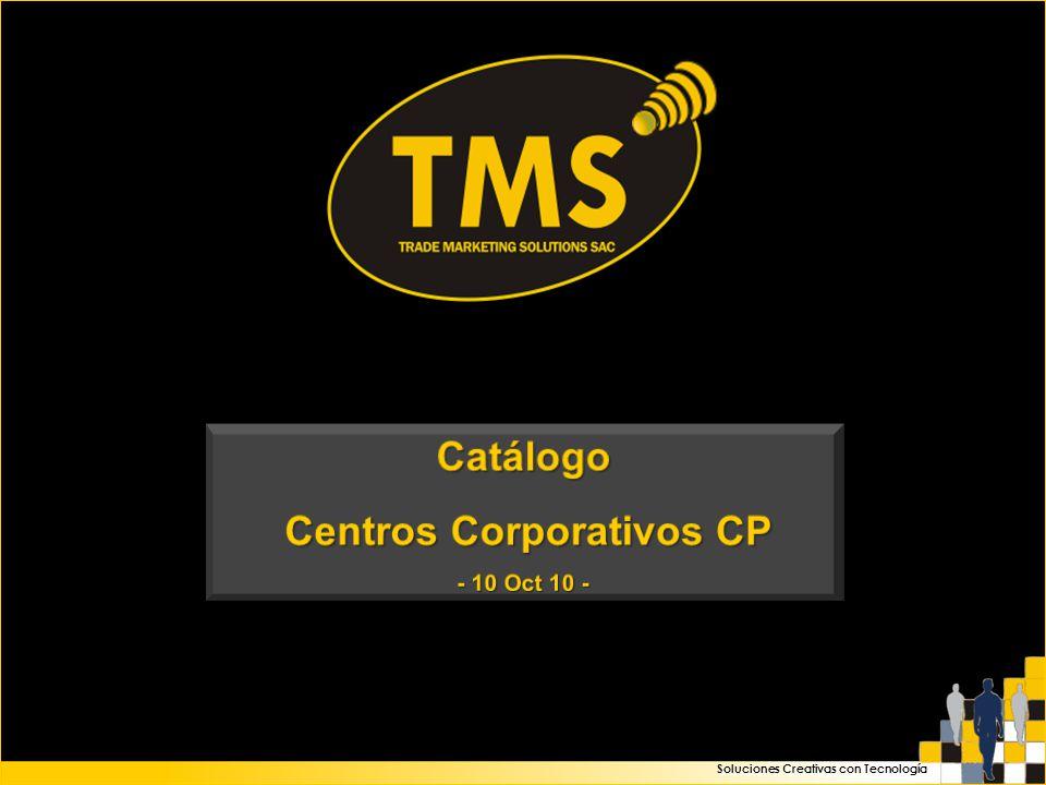 Soluciones Creativas con Tecnología Centros Corporativos CP