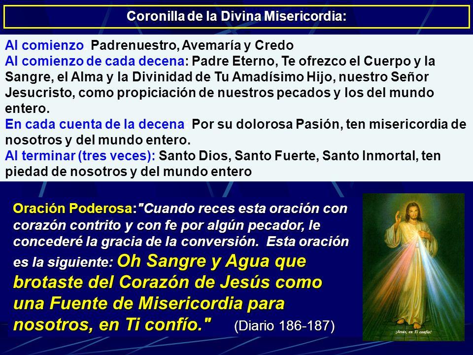 Coronilla de la Divina Misericordia:
