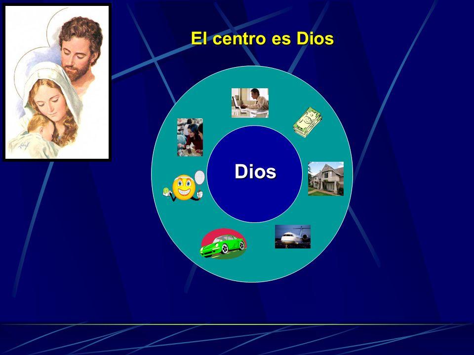 El centro es Dios Dios