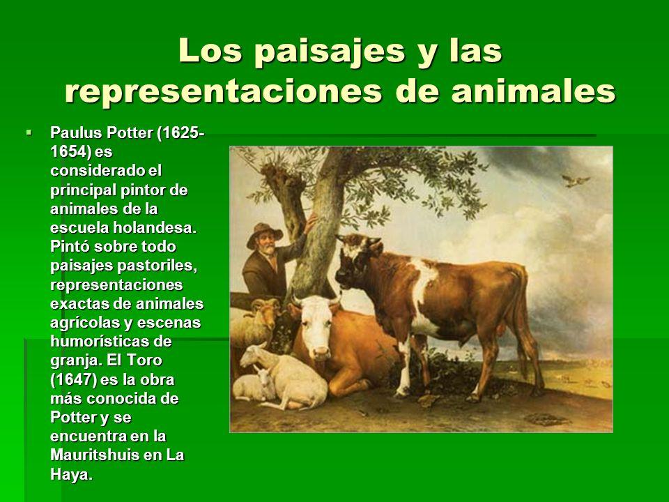 Los paisajes y las representaciones de animales