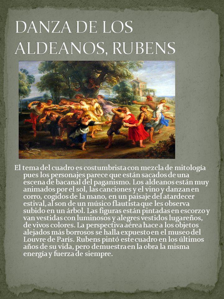 DANZA DE LOS ALDEANOS, RUBENS
