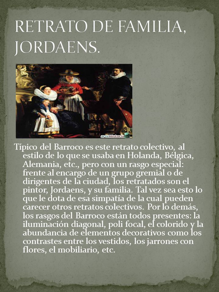 RETRATO DE FAMILIA, JORDAENS.
