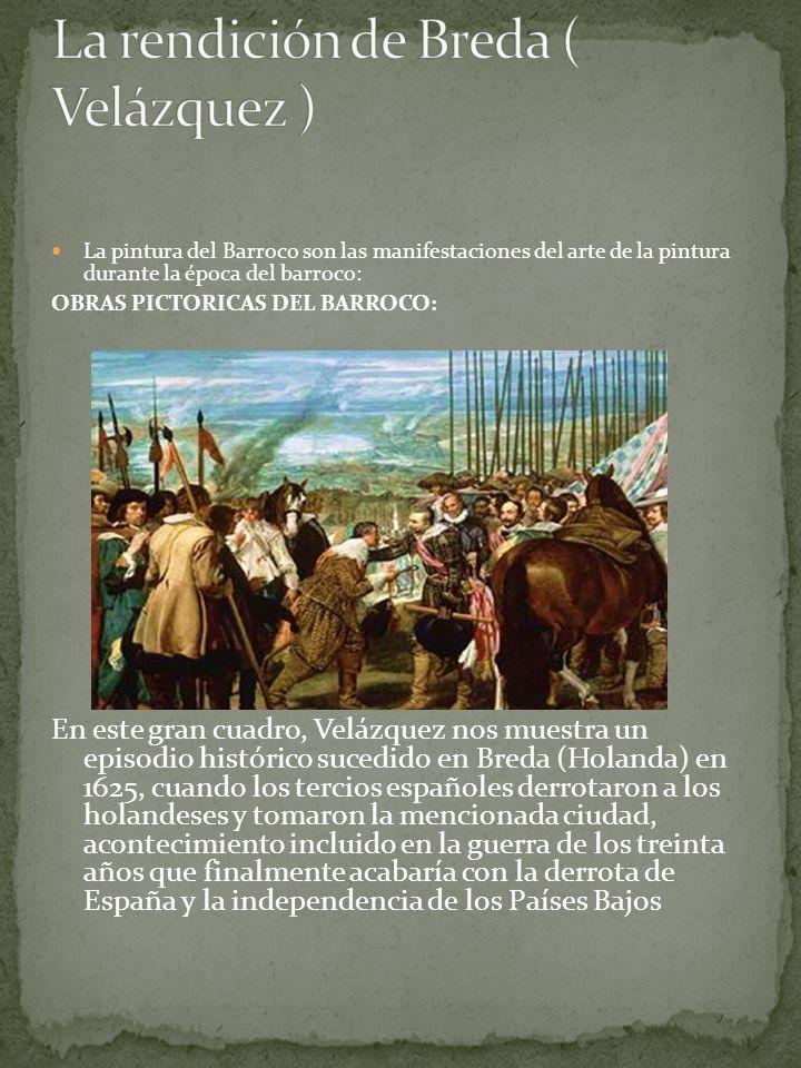 La rendición de Breda ( Velázquez )