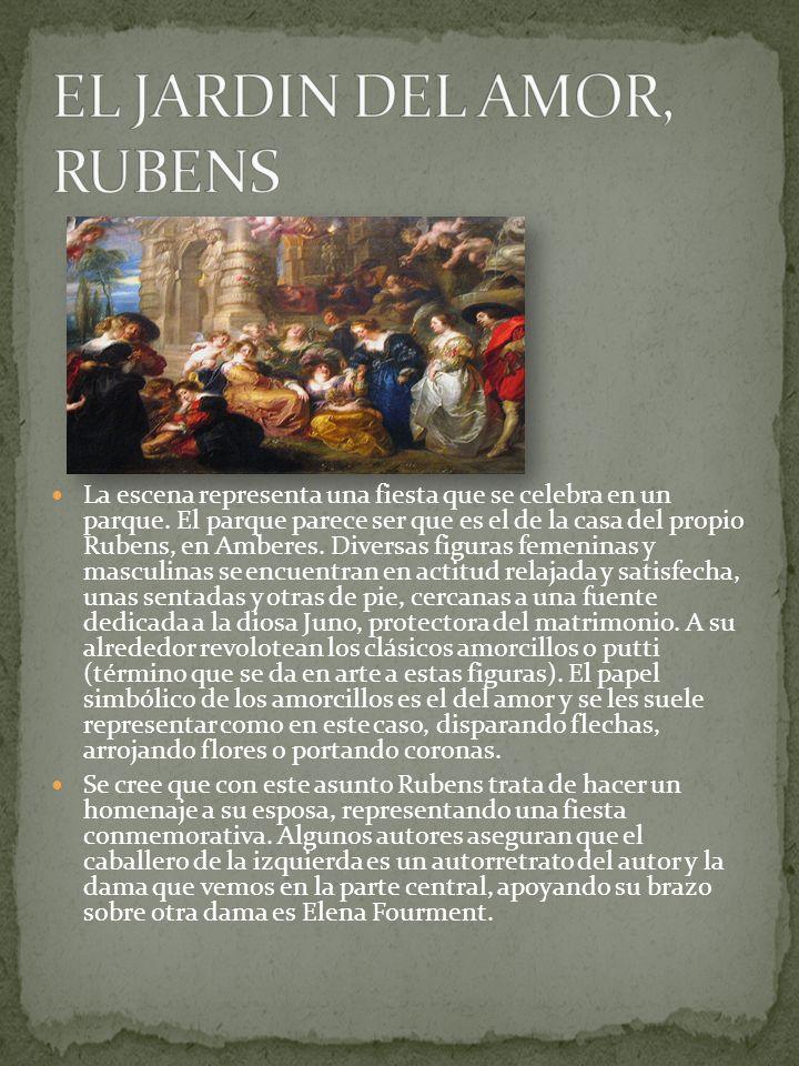 EL JARDIN DEL AMOR, RUBENS