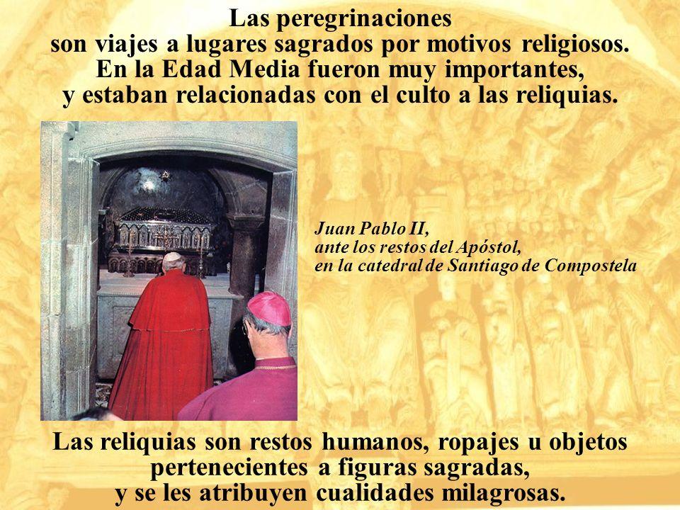 son viajes a lugares sagrados por motivos religiosos.