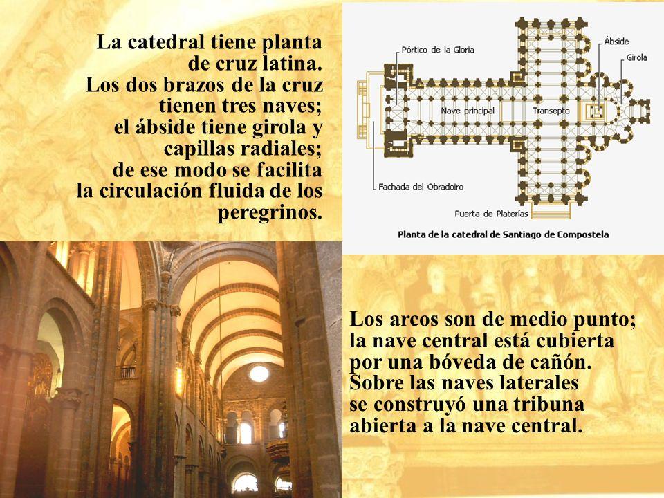 La catedral tiene planta