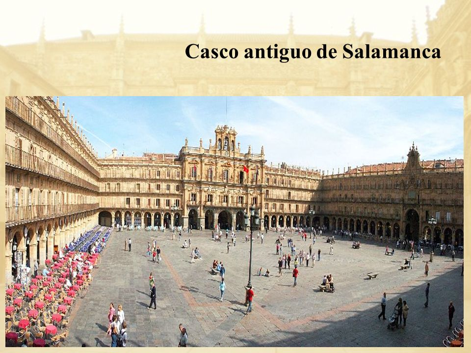 Casco antiguo de Salamanca