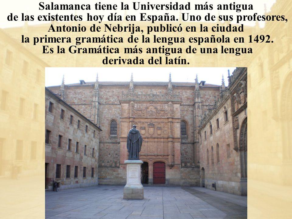 Salamanca tiene la Universidad más antigua