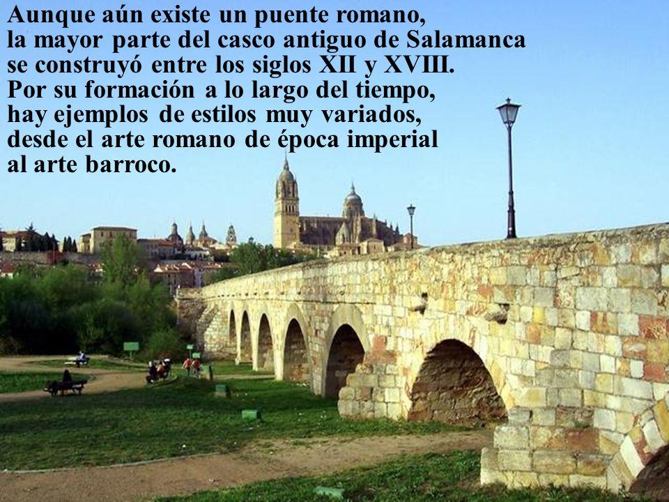 Aunque aún existe un puente romano,