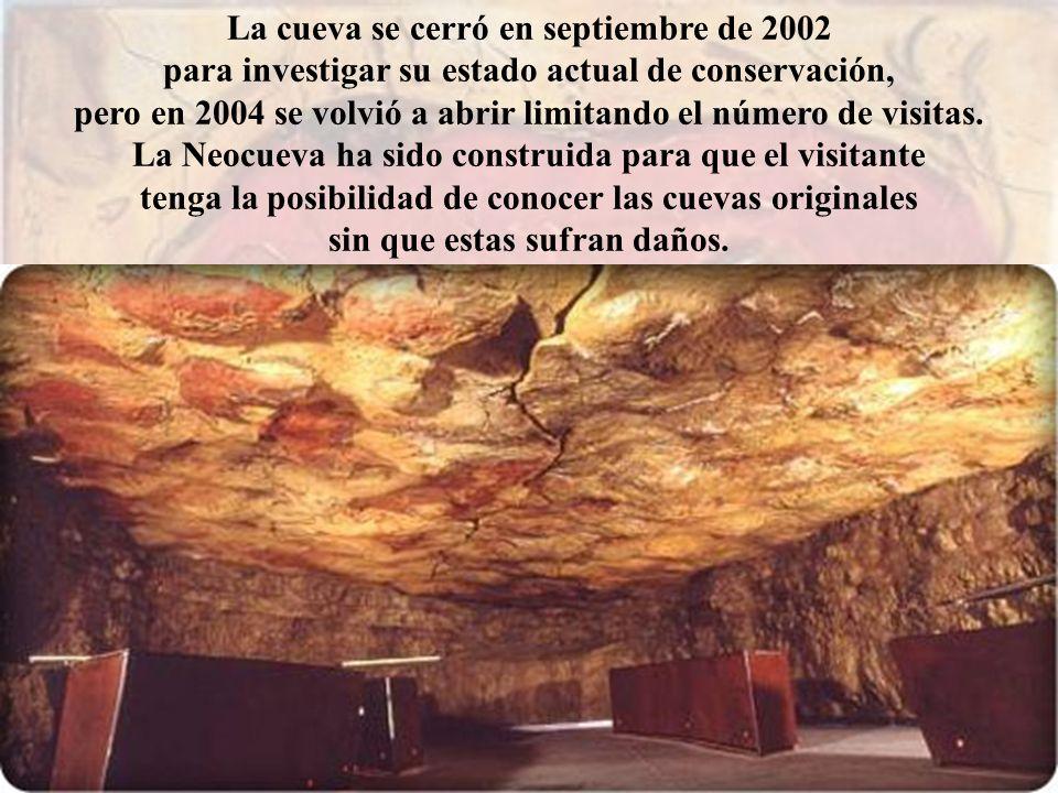 La cueva se cerró en septiembre de 2002