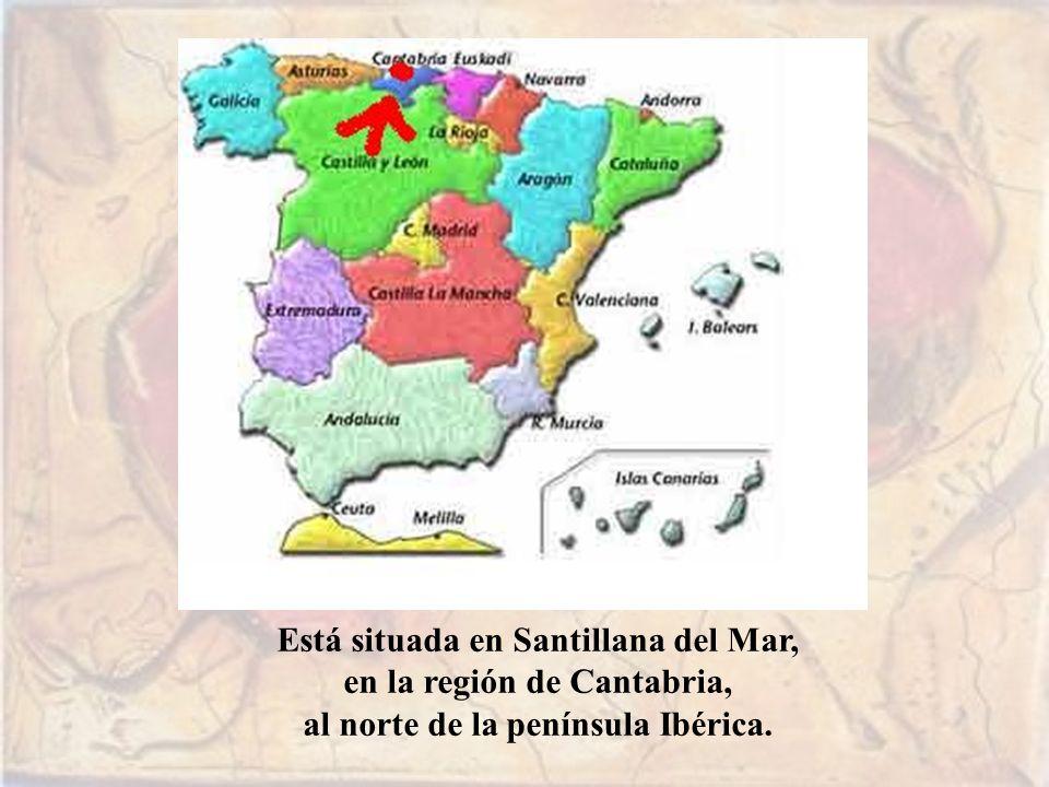 Está situada en Santillana del Mar, en la región de Cantabria,