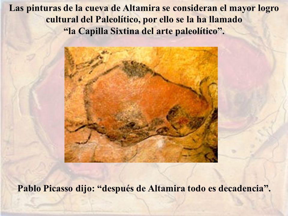 la Capilla Sixtina del arte paleolítico .
