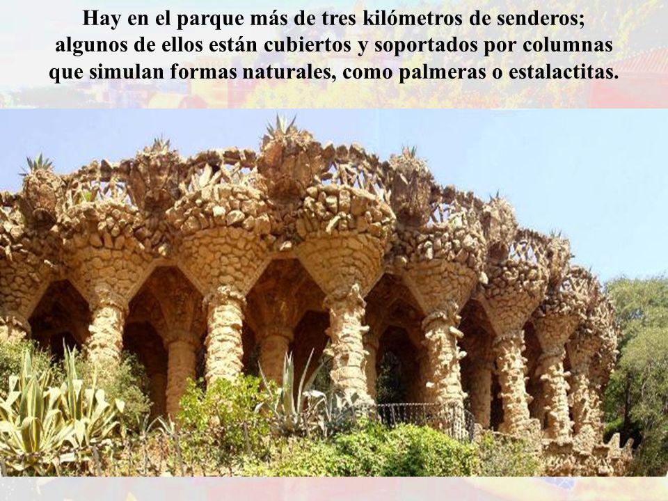 Hay en el parque más de tres kilómetros de senderos;