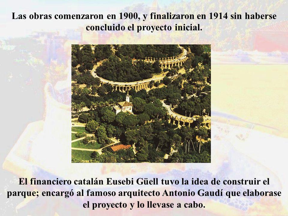 Las obras comenzaron en 1900, y finalizaron en 1914 sin haberse concluido el proyecto inicial.