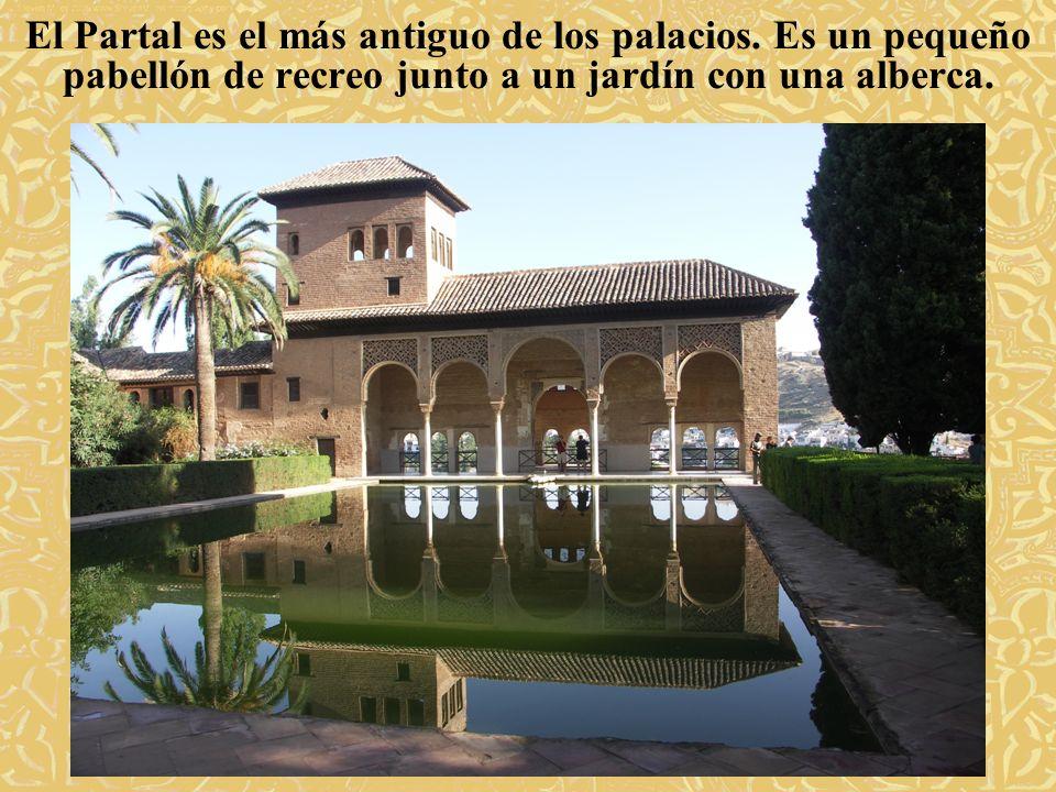El Partal es el más antiguo de los palacios