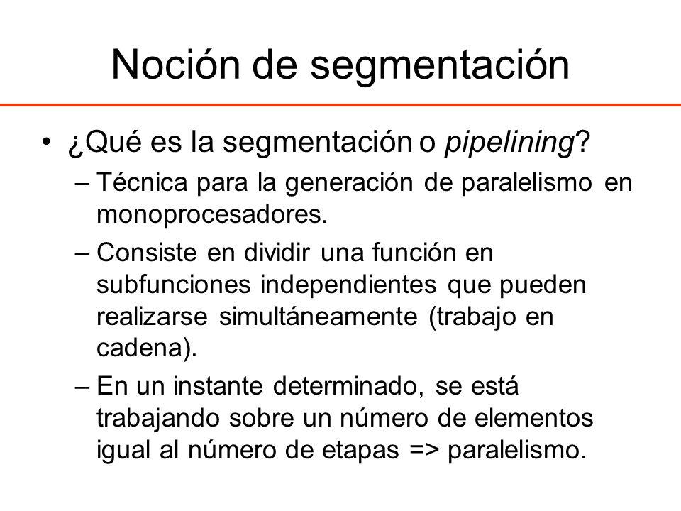Noción de segmentación