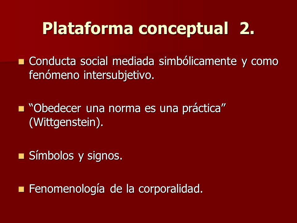 Plataforma conceptual 2.