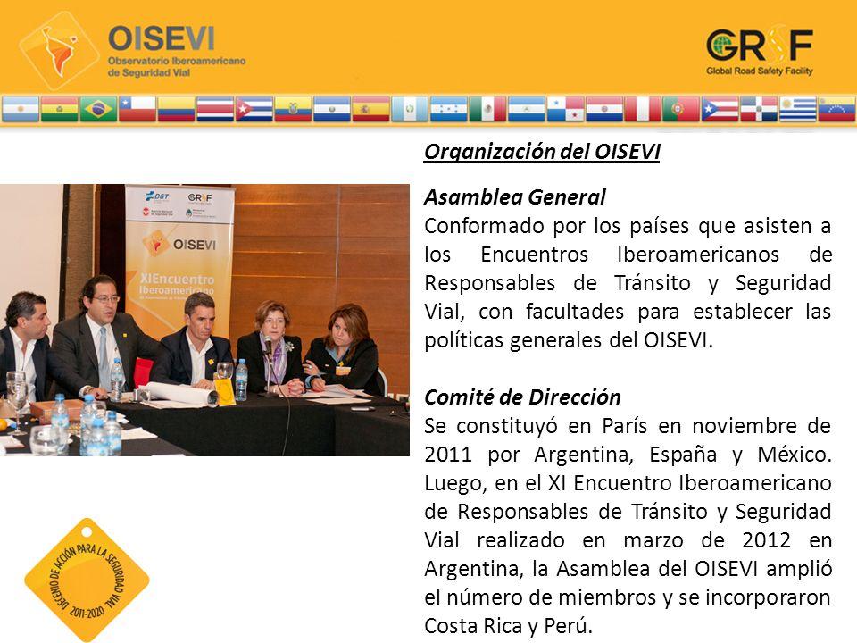 Organización del OISEVI Asamblea General