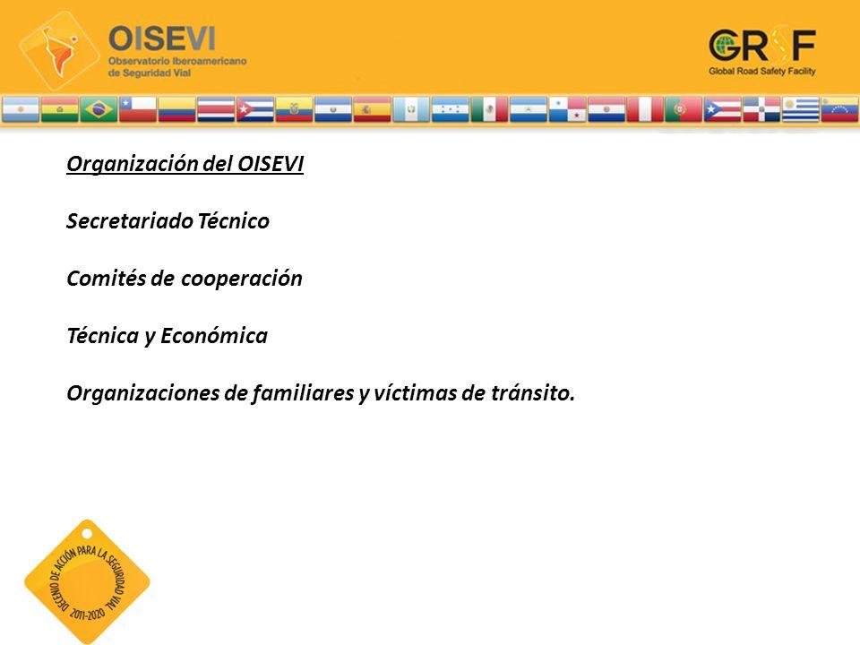 Organización del OISEVI Secretariado Técnico Comités de cooperación